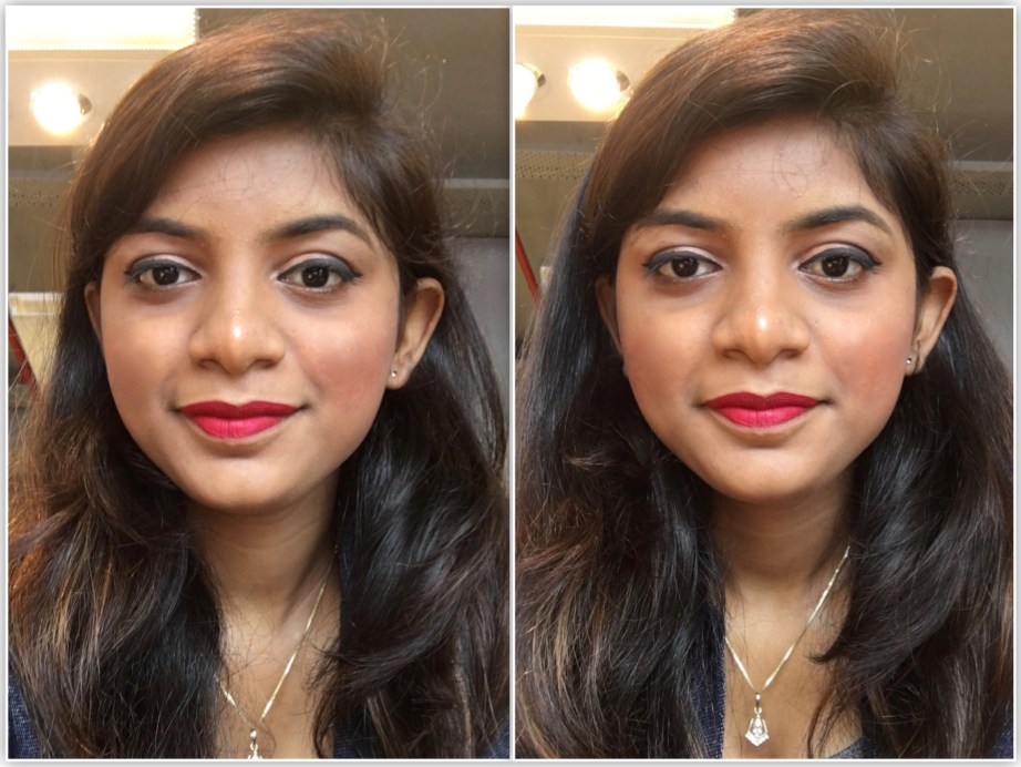 Inglot HD Lip Tint Matte 12 Review Swatches MBF Makeup Look