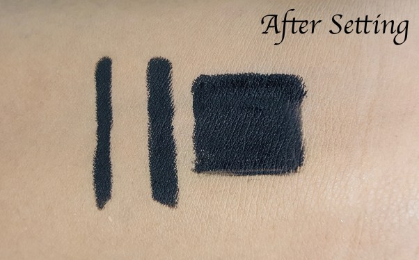 L'Oreal Infallible Silkissime Eyeliner Black Noir Review Swatches set