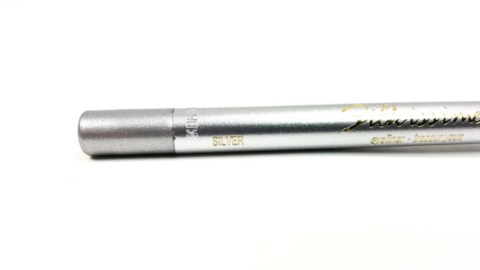 L'Oreal Infallible Silkissime Eyeliner Silver Argente Review Swatches shade