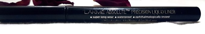 Lakme Absolute Precision Liquid Liner Review Swatches mbf blog