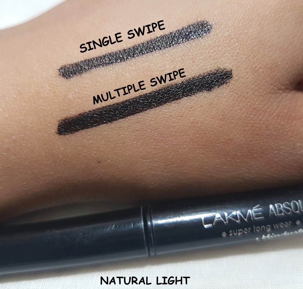 Lakme Absolute Precision Liquid Liner Review, Swatches