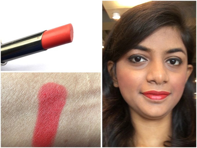 Lakme Absolute Sculpt Matte Lipstick Coral Flare Review Swatches mbf