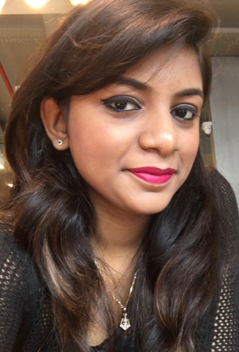 Lakme Enrich Matte Lipstick PM 15 Review Swatches on lips makeup look