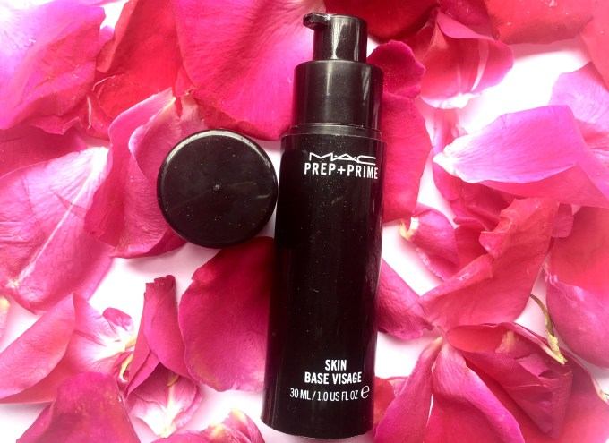 MAC Prep and Prime Skin Base Visage Review Swatches
