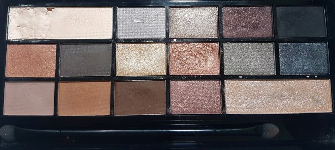 Makeup Revolution I Heart Makeup Naked Underneath Eyeshadow Palette Review Swatches focus