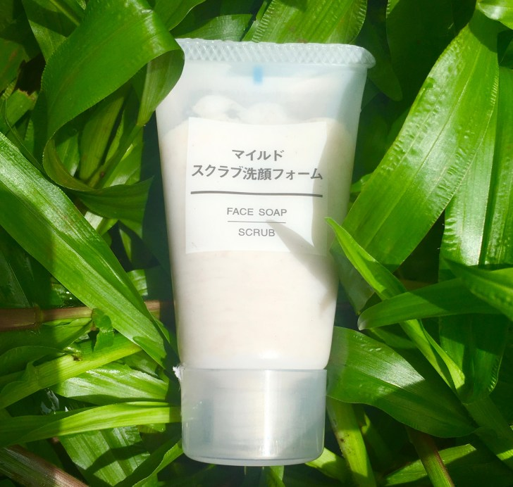 Muji Skincare Face Soap Scrub Review mbf blog