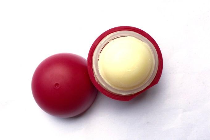 Organic Harvest Pomegranate Lip Care Balm Review mbf blog