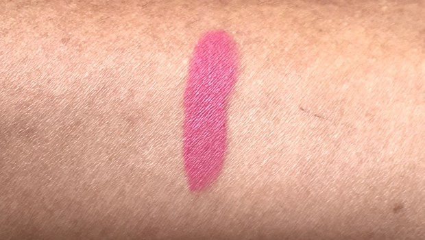 SUGAR Matte As Hell Crayon Lipstick Rose Dawson 05 Review Swatches on hand