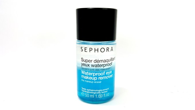 Sephora Waterproof Eye Makeup Remover Review Demo mbf
