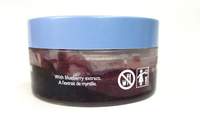 The Body Shop Blueberry Body Scrub Gelee Review extract