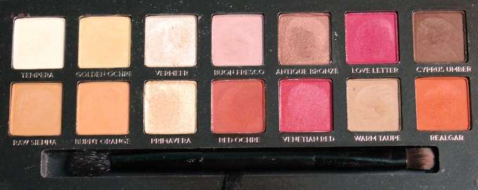 Anastasia Beverly Hills Modern Renaissance Palette Review Swatches close up