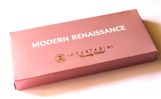 Anastasia Beverly Hills Modern Renaissance Palette Review Swatches outer box