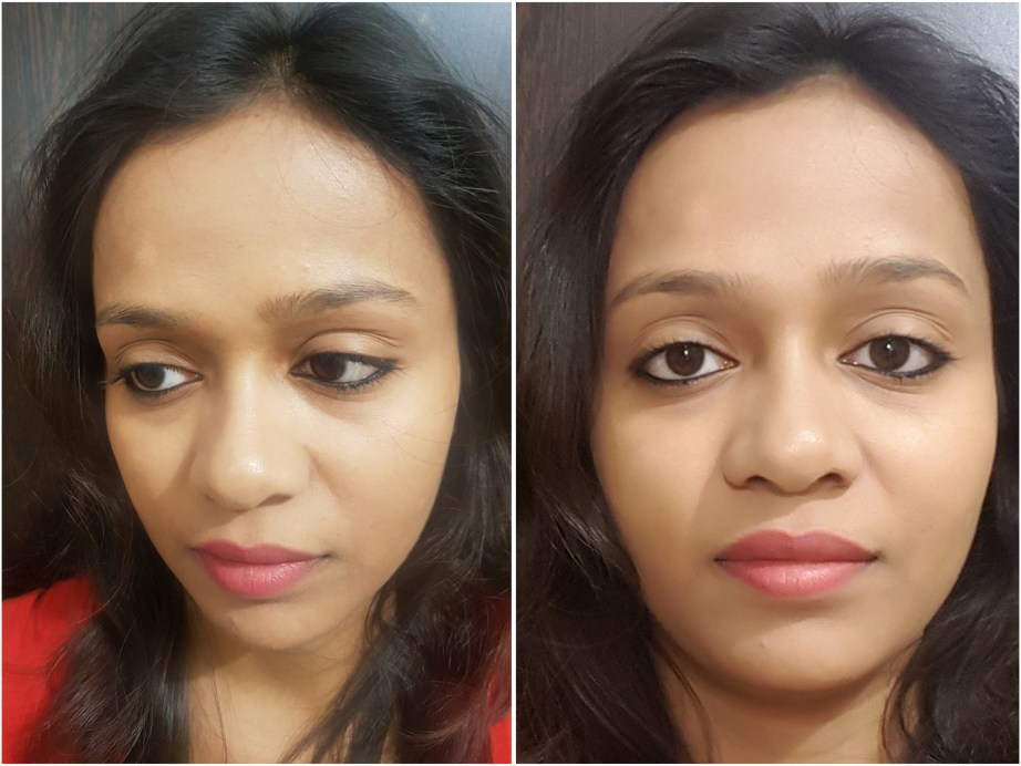 Faces Magneteyes Kajal Review Swatches MBF Makeup Look