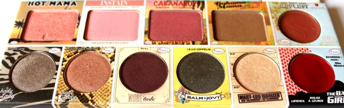In the Balm of Your Hand Palette Review Swatches focus
