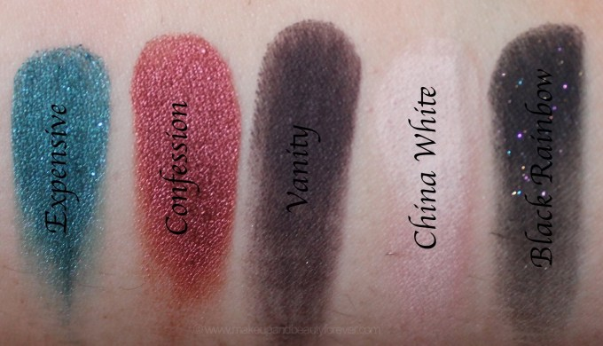 Jeffree Star Beauty Killer Palette Review Swatches expensive confession vanity china white black rainbow
