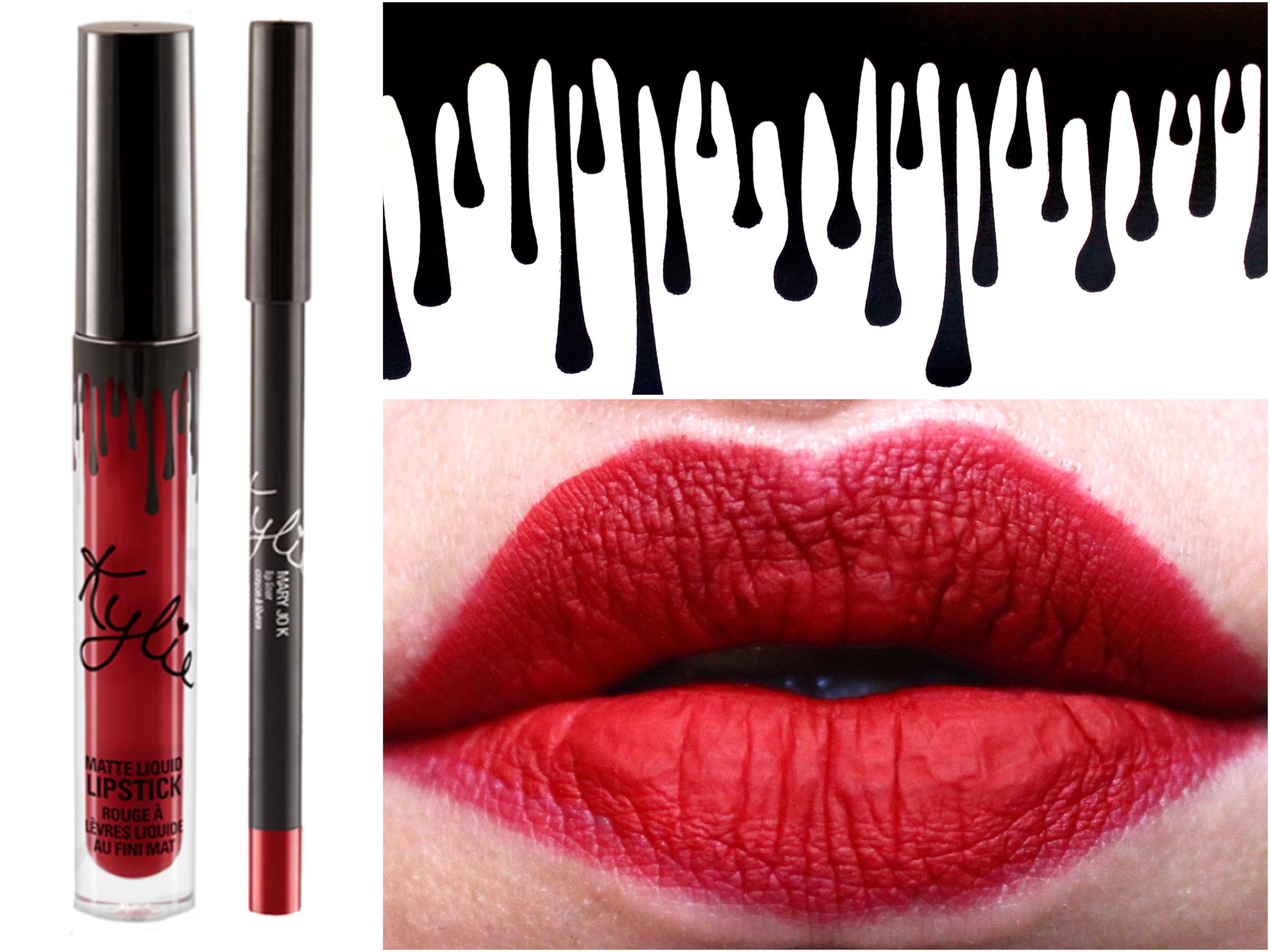 Kylie Jenner Lip Kit Mary Jo K Review Swatches Lipstik