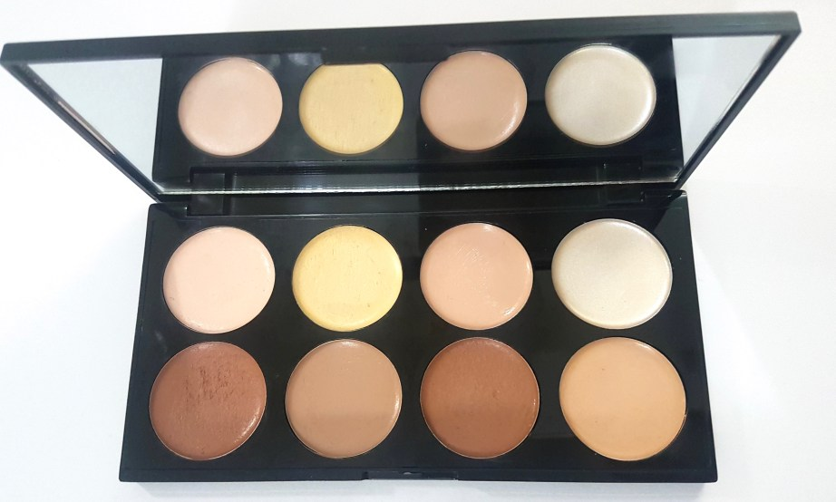Makeup Revolution Ultra Cream Contour Palette Review Swatches mbf blog