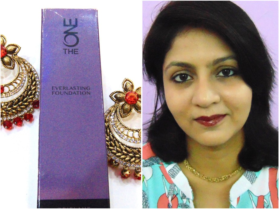 Oriflame The One Everlasting Foundation Review Swatches MBF Makeup Look