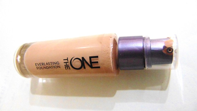 Oriflame The One Everlasting Foundation Review Swatches MBF
