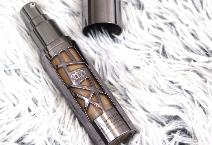 Urban Decay All Nighter Liquid Foundation Review Swatches Demo Focus