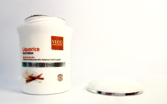 VLCC Skin Defense Liquorice Cold Cream Review 1
