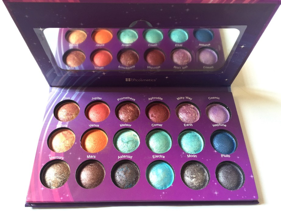 BH Cosmetics Galaxy Chic Baked Eyeshadow Palette Review Swatches MBF Blog