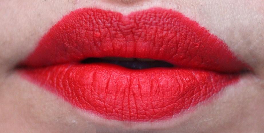 ColourPop Matte X Lippie Stix Trust Me Review Swatch on Lips