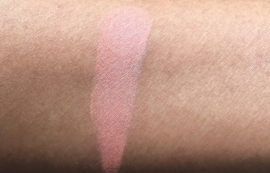 Faces Glam On Perfect Blush Cocktail Peach Review Swatches hand