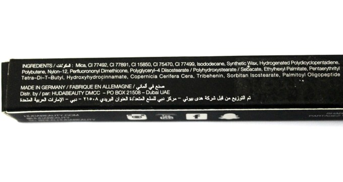 Huda Beauty Lip Contour Matte Pencil Trophy Wife Review Ingredients