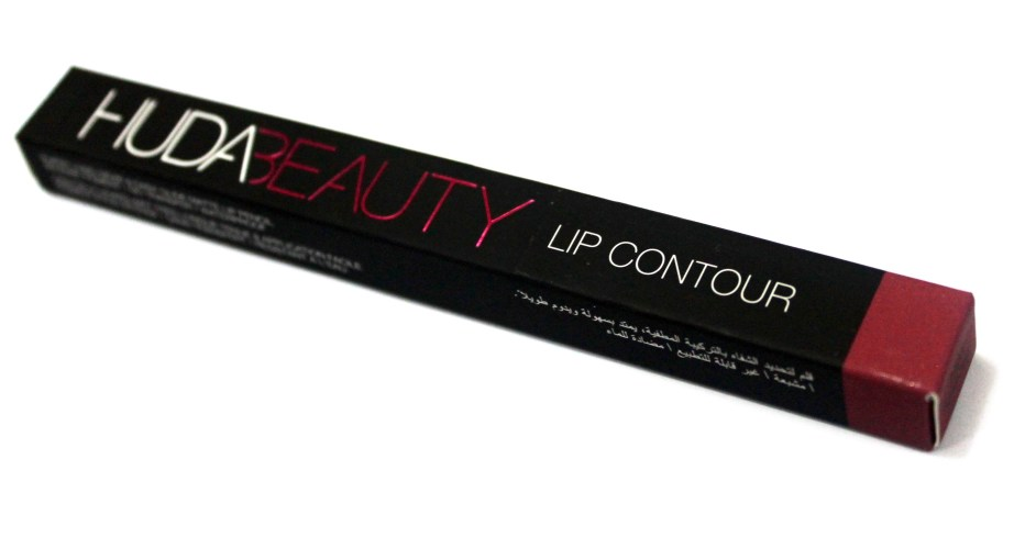 Huda Beauty Lip Contour Matte Pencil Trophy Wife Review Swatches Indian Makeup Beauty Blog