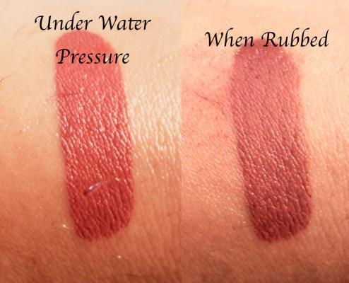 Huda Beauty Liquid Matte Lipstick Icon Review Swatches Water Test Smudge Test