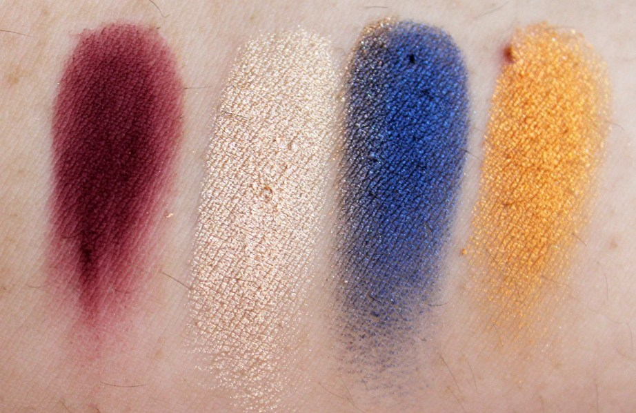 Juvia's Place Nubian 2 Yellow Eye Shadow Palette Review Swatches Jazebel Suri Clenopatro Nefertiti MBF