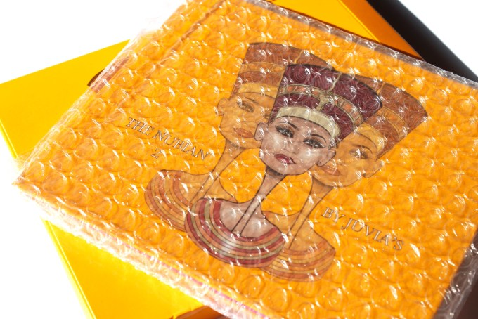 Juvia's Place Nubian 2 Yellow Eye Shadow Palette Review Swatches packaging