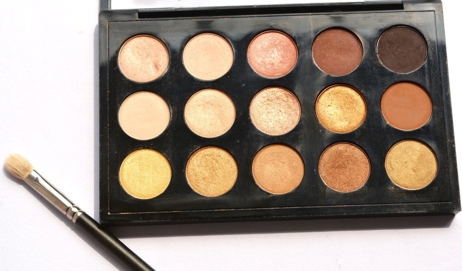 MAC Eyeshadow x 15 Warm Neutral Palette Review Swatches MBF