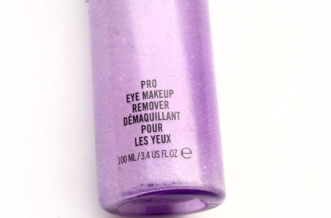MAC Pro Eye Makeup Remover Review Demo
