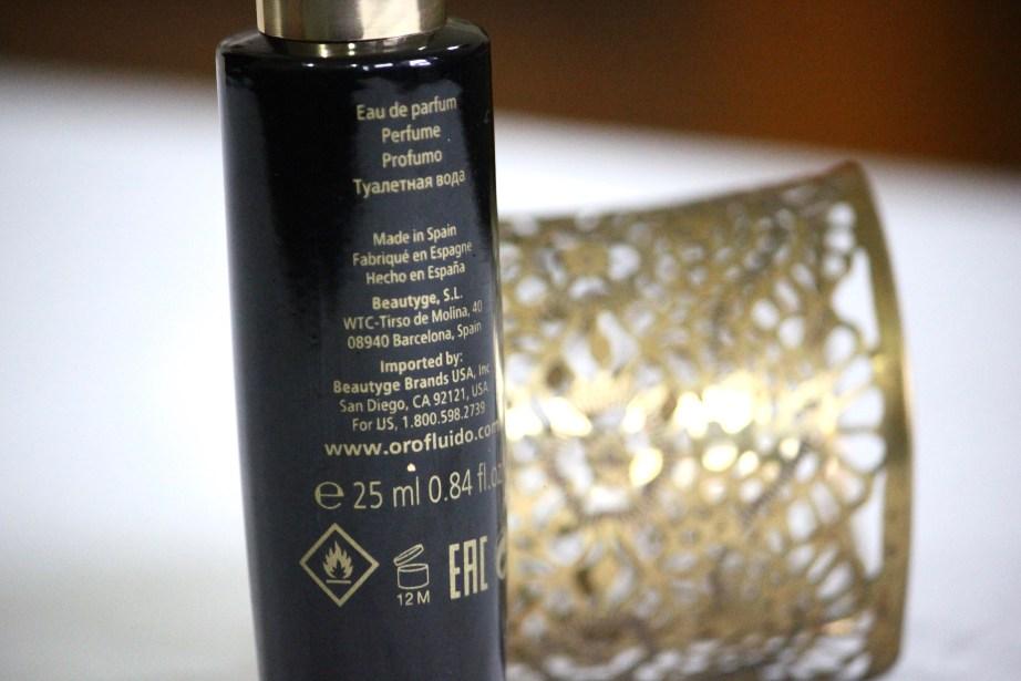 Orofluido Eau De Parfum Review MBF Blog