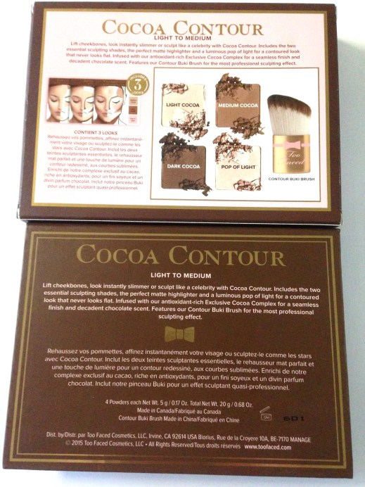 Too Faced Cocoa Contour Chiseled to Perfection Palette Review