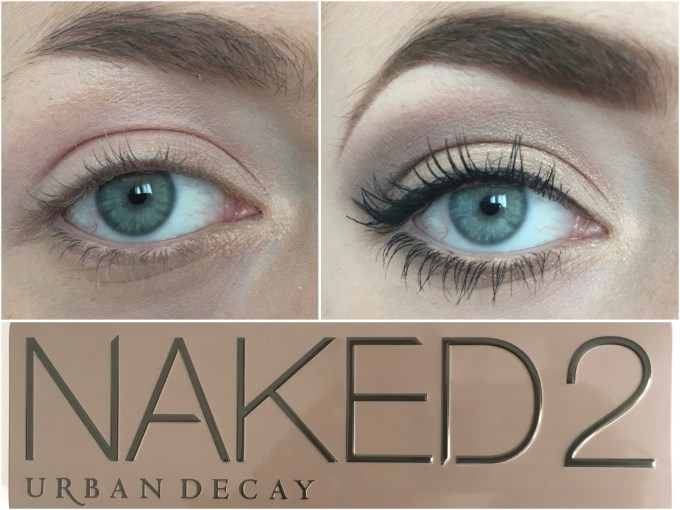 Urban Decay Naked 2 Eyeshadow Palette Review Swatches Before After MBF Eye makeup Look