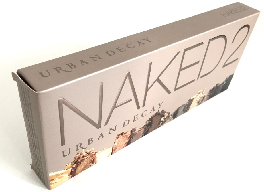 Urban Decay Naked 2 Eyeshadow Palette Review Swatches Box