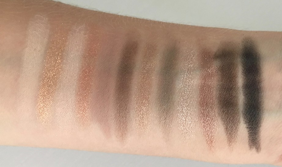 Urban Decay Naked 2 Eyeshadow Palette Review Swatches hand