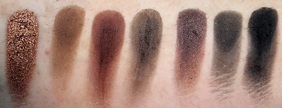 Morphe 35W 35 Color Warm Palette Review Swatches 5th Row
