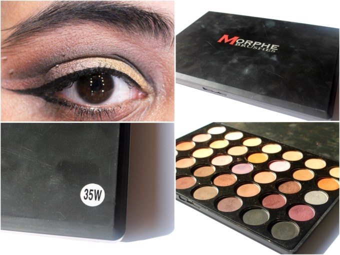 Morphe 35W 35 Color Warm Palette Review Swatches MBF Makeup Look