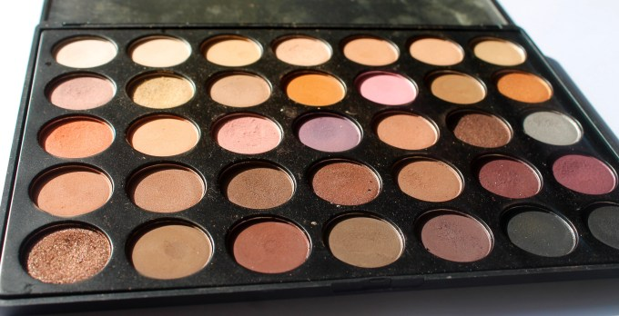 Morphe 35W 35 Color Warm Palette Review Swatches Near