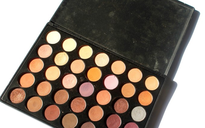 Morphe 35W Warm Palette Review Swatches MBF