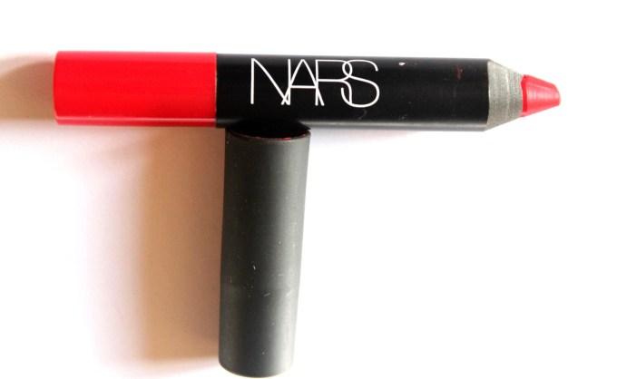 NARS Dragon Girl Velvet Matte Lip Pencil Review Swatch