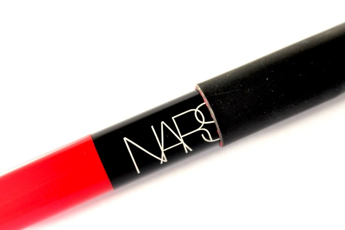 NARS Dragon Girl Velvet Matte Lip Pencil Review Swatches closeup