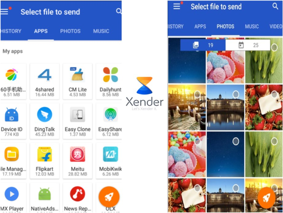 XENDER, A File Transfer APP Clocks In 170 MN Users Launches New Logo for Diwali