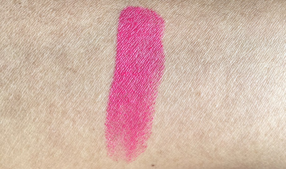 Colorbar 3D Matte Lipstick Cocktail Collection Cosmopolitan Review, Swatches hand