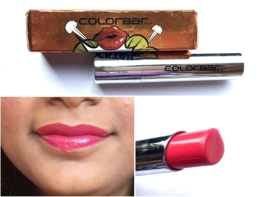 Colorbar 3D Matte Lipstick Cocktail Collection Cosmopolitan Review, Swatches