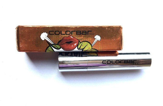 Colorbar 3D Matte Lipstick Cocktail Collection Cosmopolitan Review